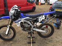 Yamaha yzf250 2015