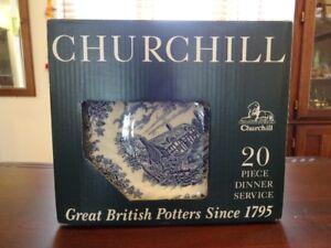 Service de vaisselle  20 pieces , marque Churchill England