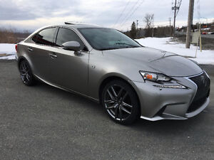 2014 Lexus IS 250 AWD f-sport Berline