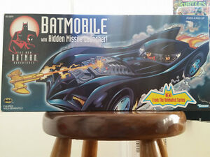 Batmobile w Hidden Missle Launcher! (1997)