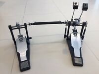 Yamaha double bass drum pedals with direct drive