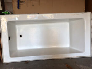 "Mirolin Austin White Bathtub 66""x34""x20"""