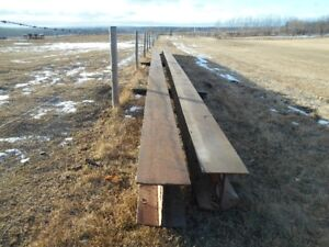 FOR SALE:  I-Beams to move houses