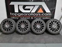"20"" GENUINE MERCEDES GLC TURBINE ALLOY WHEELS & TYRES A2534011900"