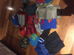 Boys 6 and size small clothing