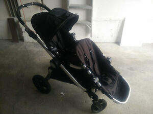 Great Cond. DOUBLE SEAT Baby Jogger City Select Stroller, Onyx