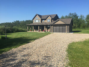 Beautiful Home on Acreage for Sale
