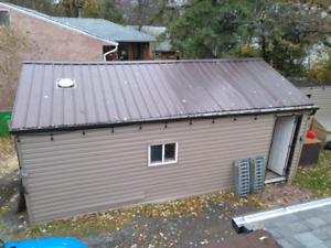 Aluminum roofing, siding,  OSB, and electrical for sale
