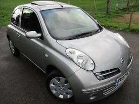 2007 NISSAN MICRA SPIRITA AUTOMATIC ONLY 22,925 MILES FROM NEW . HATCHBACK PETRO