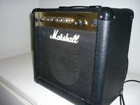 COMME NEUF Ampli pour guitare MARSHALL MG15CD