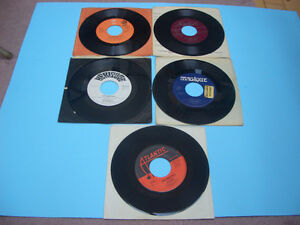 VINTAGE 45S RECORDS 70S AND 80S MEAT LOAF, ASIA, AC/DC ETC London Ontario image 5