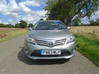 2013/63 TOYOTA AVENSIS 2.0 D-4D ICON 4DR GREY - LOW MILEAGE - HIGH SPEC!