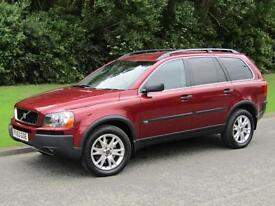 2004 Volvo XC90 2.4 D5 SE Auto Geartronic Diesel 7 Seater 4x4 AWD 163 bhp