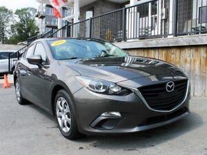 2014 Mazda 3 GX-SKY / 2.0L I4 / Auto / FWD *Just 60,000km*