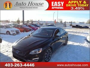 2014 Volvo S60 T6 AWD Leather Nav B.Cam Sunroof