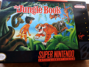 Looking for jungle book cartridge for SNES