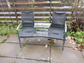 Garden table & chairs free local delivery