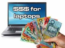 Cash paid for laptops, MacBooks, iMacs and tablets working or not Surfers Paradise Gold Coast City Preview