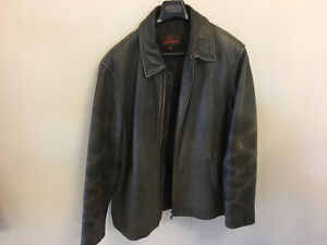 Men's Daniel Brown Leather Jacket