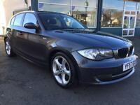 2007 57 BMW 123D SE 5DR 12 BMW DEALER SERVICE STAMPS VERY NICE EXAMPLE