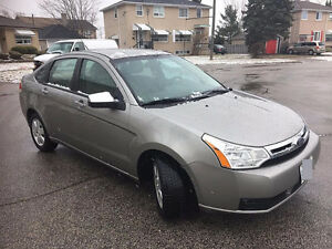 2008 Ford Focus With E tested Sedan