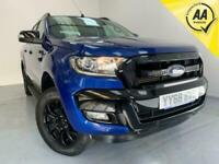 2018 Ford Ranger Wildtrak 3.2 Pick-Up Diesel Auto 1 Owner Euro 6 Double Cab Pick