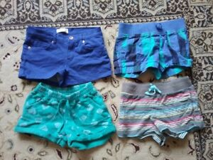 4 pairs of girls shorts - size 8 &  9/10