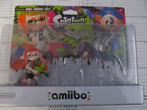 Splatoon amiibo Girl New