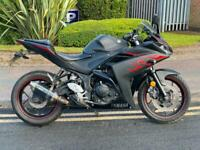 2017 YAMAHA YZF R3 ABS A2 FRIENDLY-- AKRAPOVIC EXHAUST- P/X WELCOME DELIVERY