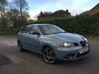 2007 SEAT IBIZA 1.9 TDI PD 130 REMAPPED TO 180 BHP XENONS LIMITED EDITION