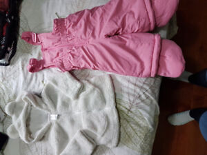 3-6 Month Snowpants and Fuzzy Jacket