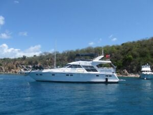 Charter 59 FT Motor Yacht in the BVI's - Peak Season 2020