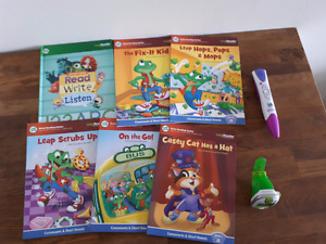 Leap frog Early Reading Series with pen and watch