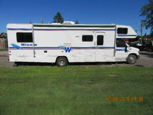 1997 FORD WINNEBEGO MINI WINNIE MOTOR HOME