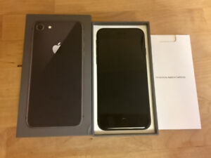 iPhone 8 64GB With AppleCare