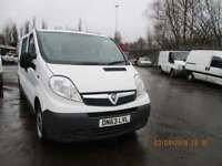 VAUXHALL VIVARO 2.0CDTi ( 115ps ) FACTORY FITTED CREW-VAN