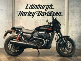 HARLEY-DAVIDSON STREET ROD XG750A WITH ONLY 7 MILES FROM NEW
