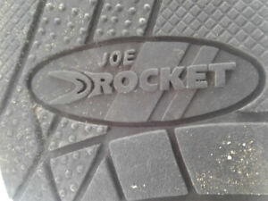 Motorcycle Boots -- Joe Rocket Meteor Honda Waterproof