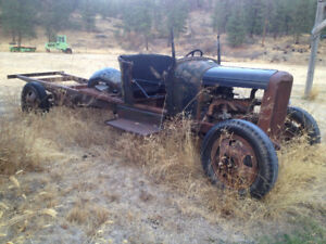 """""""Several Ford vintage 1ton chassis"""