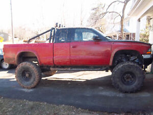 2000 Dodge Dakota red Pickup Truck 3867004