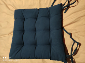 Chair Cushion seat pads with string x3