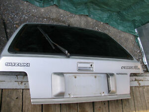 1985-1988 Sprint, Firefly and Forsa rear SOLID hatch