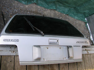 1985-1988 Sprint, Firefly and Forsa rear SOLID hatch Kawartha Lakes Peterborough Area image 1