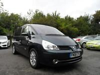 Renault GRANDE ESPACE DYNAMIQ 5 2.0dci 7 SEATER PAN ROOF 08 PLATE SIX SPEED