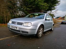 2001 VW Mk4 Golf 2.8 V6 4Motion Highline