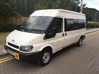 2006 Ford TRANSIT 350 LWB 15 Seat Mini Bus Manual Minibus
