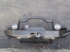 Superduty bumper & winch