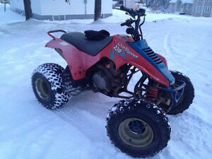 SUZUKI QUADRUNNER 230 FONCTIONNEL FAITE VITE A QUI LA CHANCE!!!