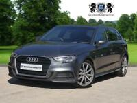 2016 16 AUDI A3 2.0 TDI S LINE 5D AUTO 148 BHP DIESEL EXCELLENT SPEC BEST COLOUR
