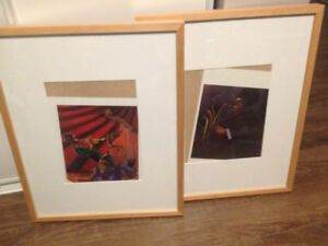 2 Large IKEA picture frames